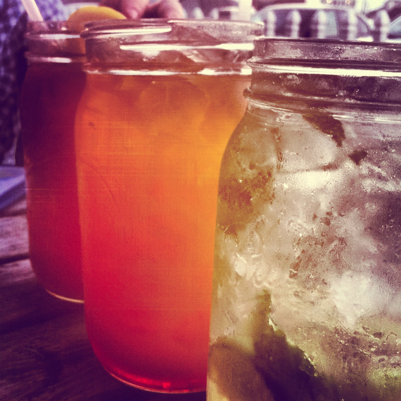 Mason jar cocktails, Back Bay Ale House | HillaryProctor.com