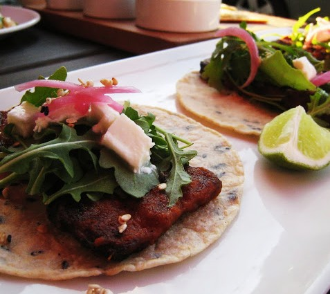 Pork belly tacos, Takito Kitchen