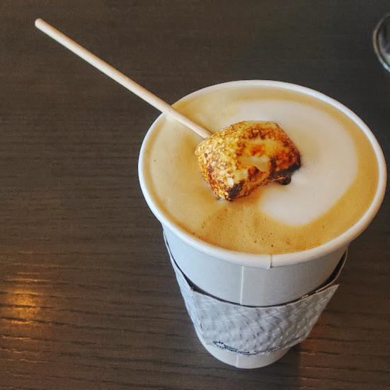 Marshmallow latte