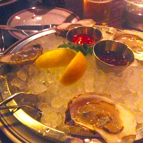 Chef's selection of East Coast oysters