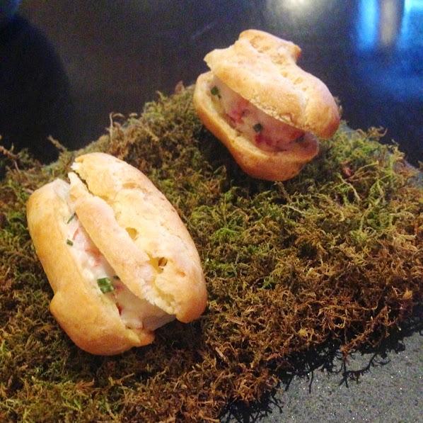 Mini lobster rolls, Acadia