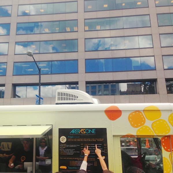 Arepa Zone truck, DC