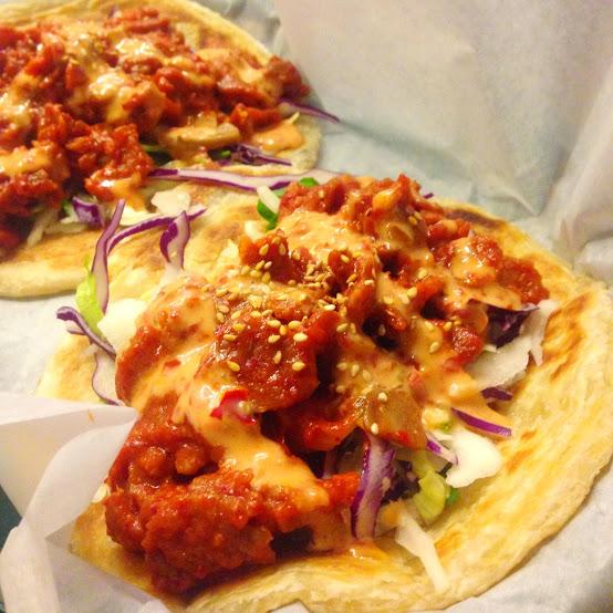 Paratha tacos, En Hakkore