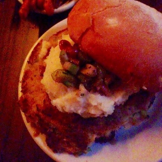 The Gobbler burger