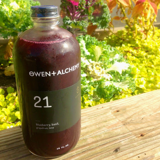 No. 21 juice, Owen and Alchemy