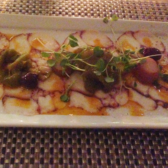Octopus a la gallega, Fig & Olive