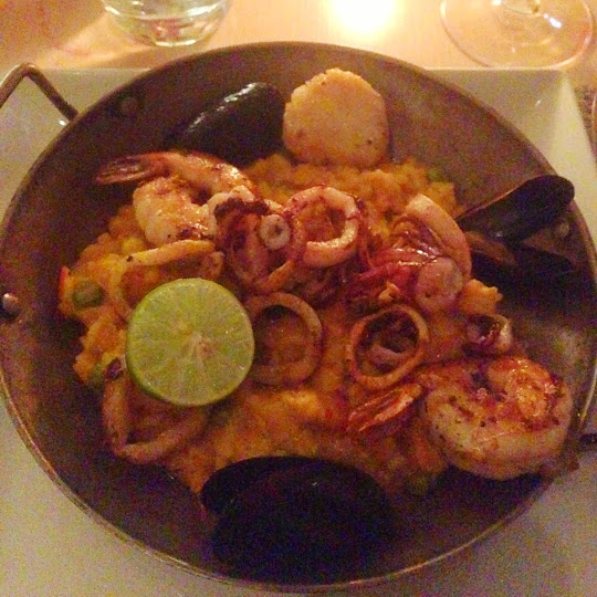 Paella del mar, Fig & Olive