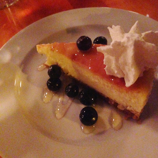 Honey ricotta cheesecake, TWO