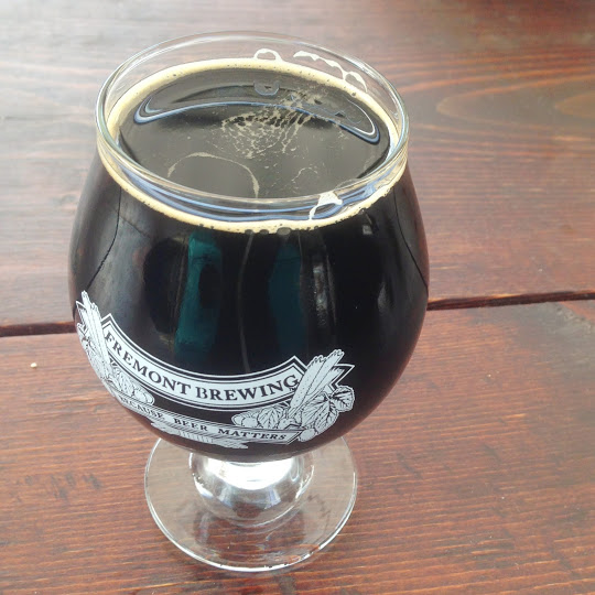 Dark Star imperial oatmeal stout, Fremont Brewing