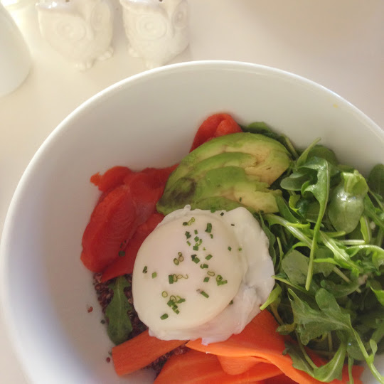 Red quinoa bowl, Tallulah's