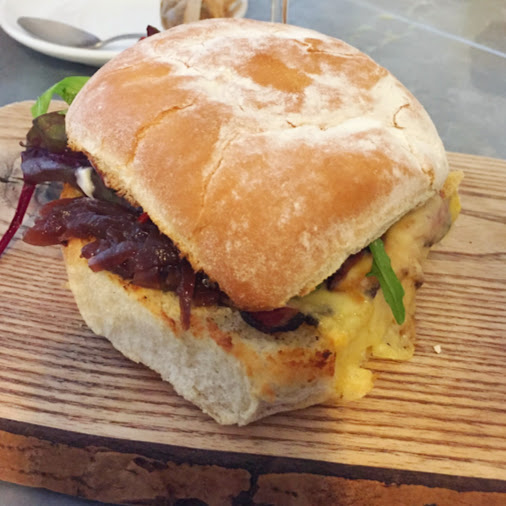 Spiced beef blaa, Hatch and Sons