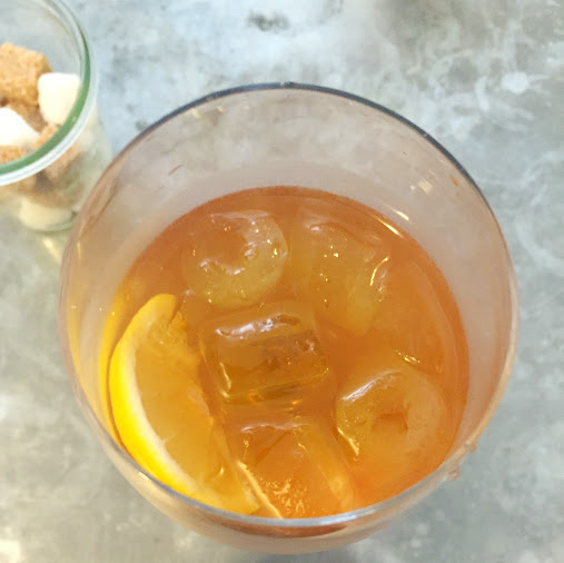 Earl Grey iced tea, Hatch and Sons