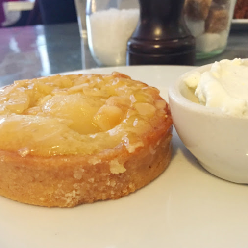 Pear-almond tart, Hatch and Sons