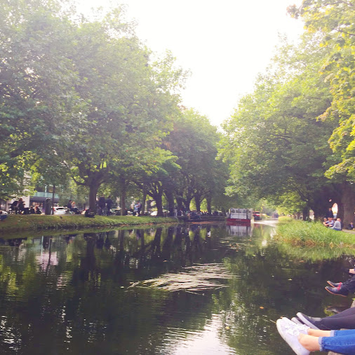 Grand Canal, Irish Village Market