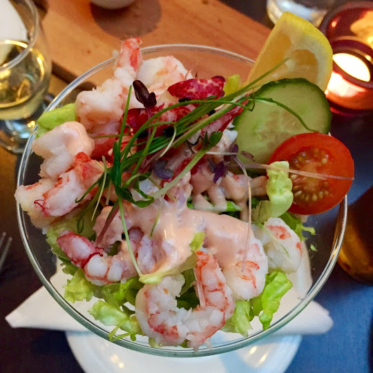 Prawn and lobster cocktail, Matt the Thresher