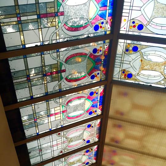 Stained glass windows, Matt the Thresher