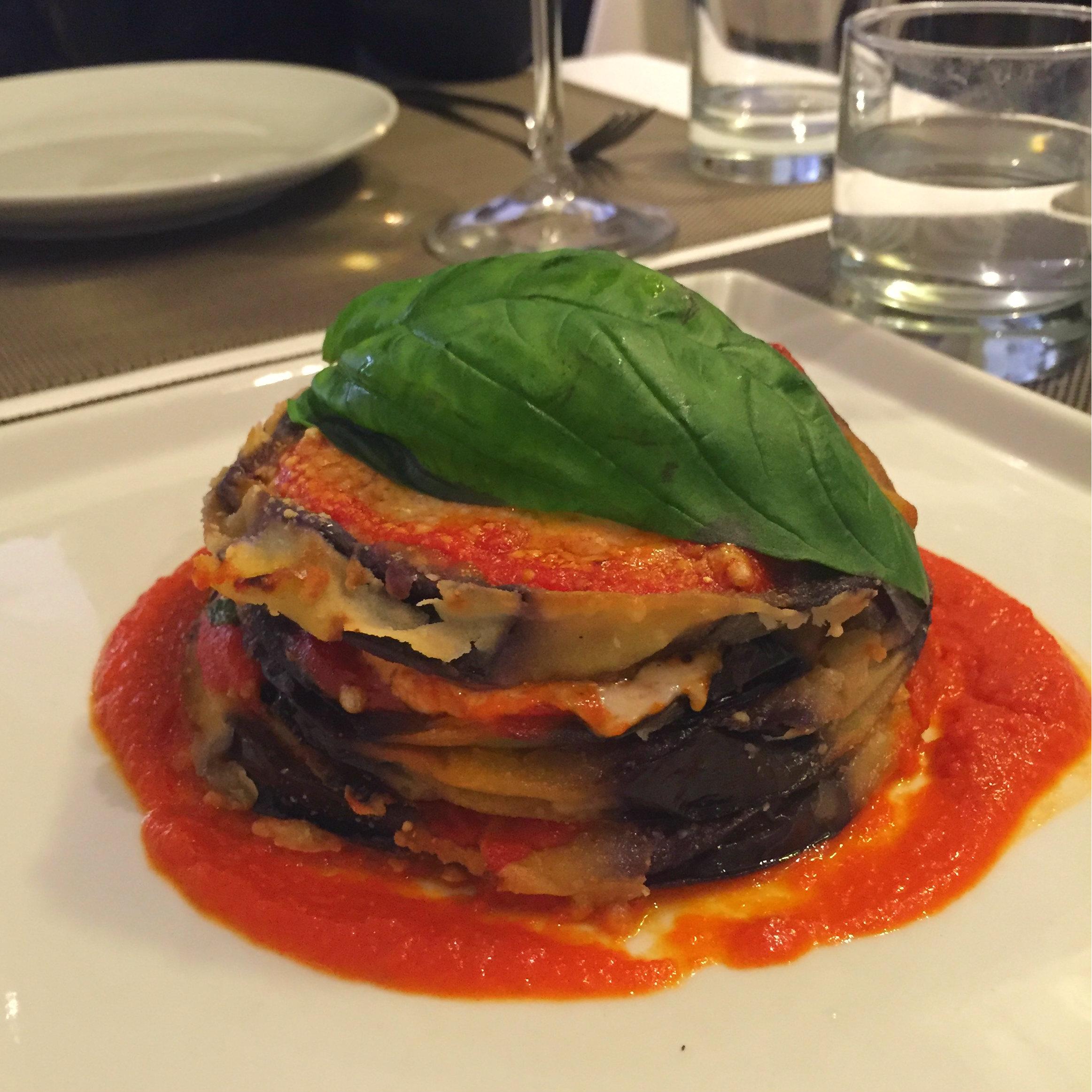 Eggplant parmesan, Sofia