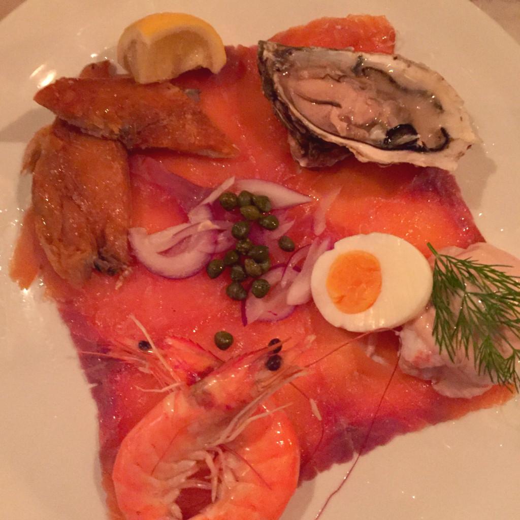 Cold seafood platter, Kirwan's