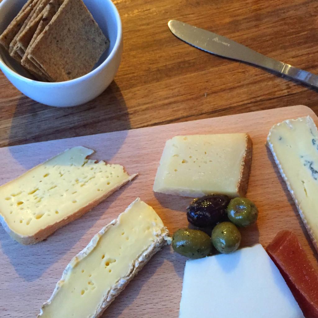 Cheese plate, Sheridans Cheesemongers
