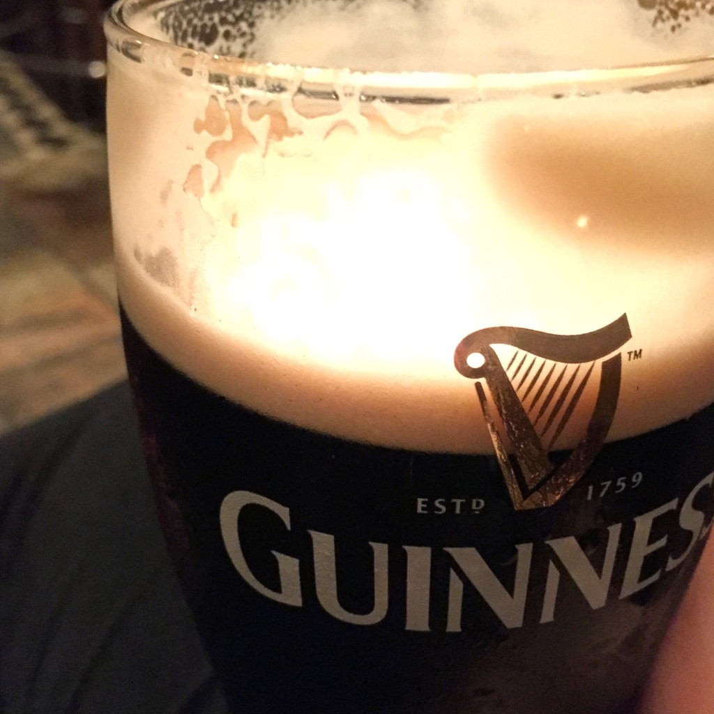 Guinness at Tig Coili