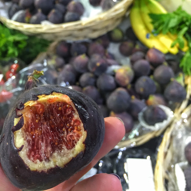Fresh figs, Borough Market