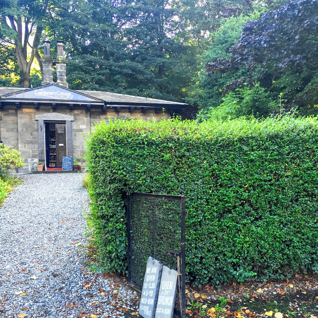 The Gardener's Cottage, tiny and tucked away