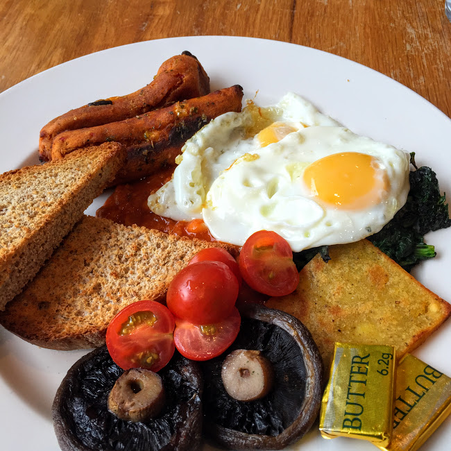 Veggie breakfast, Loudon's Cafe and Bakery