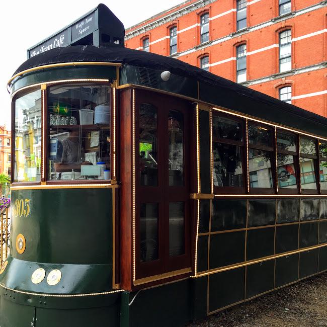 Exterior, Tram Cafe