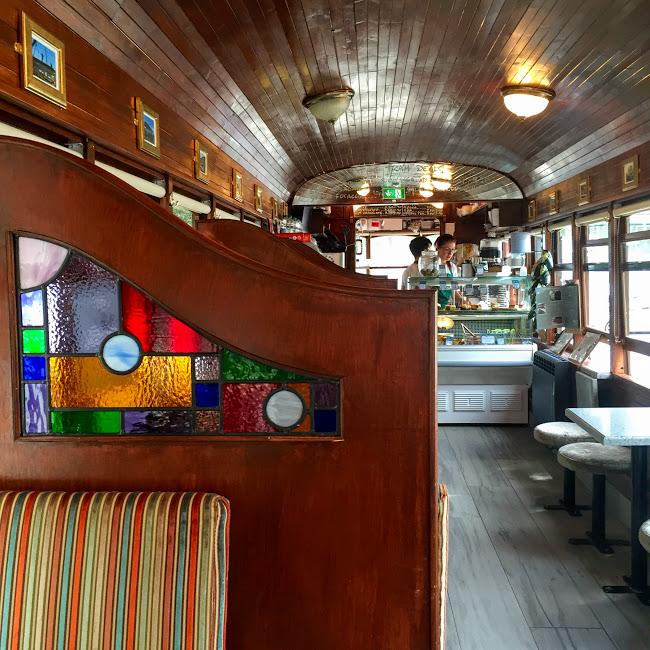 Interior, Tram Cafe