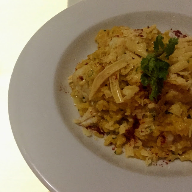 Seafood risotto, O Restaurant