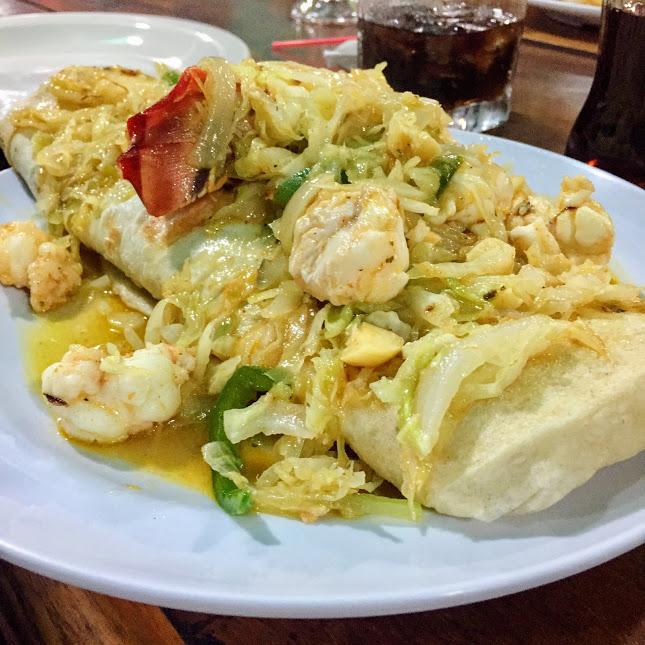 Lobster burrito, Waruguma