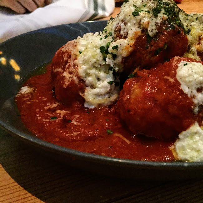 Mary P's meatballs, Cindy's
