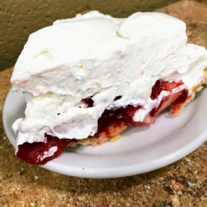 Strawberry pie, Arnold's Country Kitchen