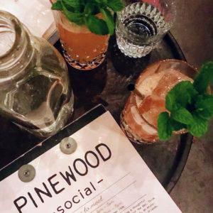 Looking Up, Talking Down cocktail, Pinewood Social