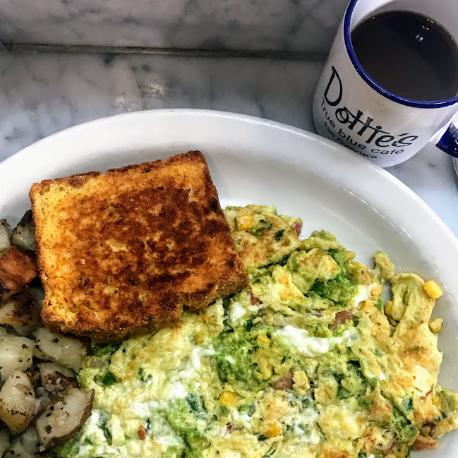 Frittata, Dottie's True Blue Cafe