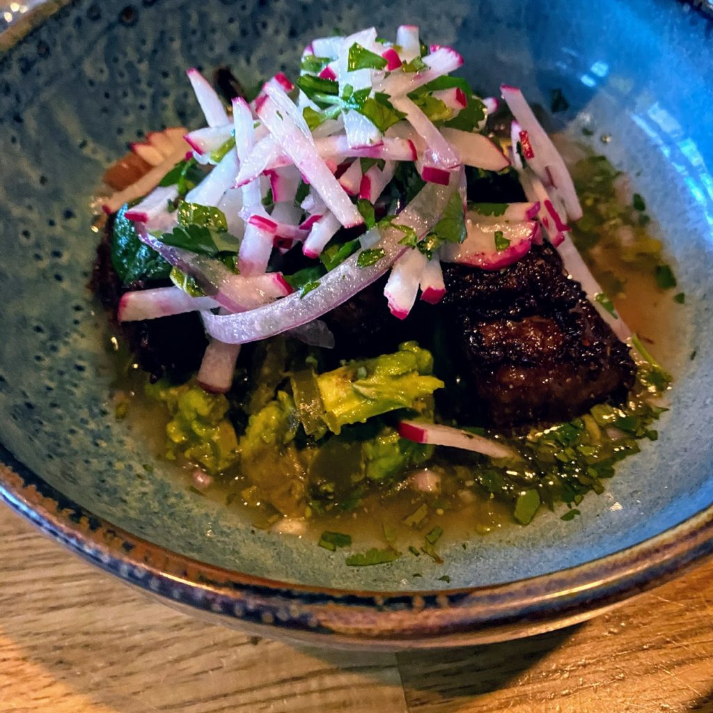 Crispy beef short ribs, Girl & the Goat