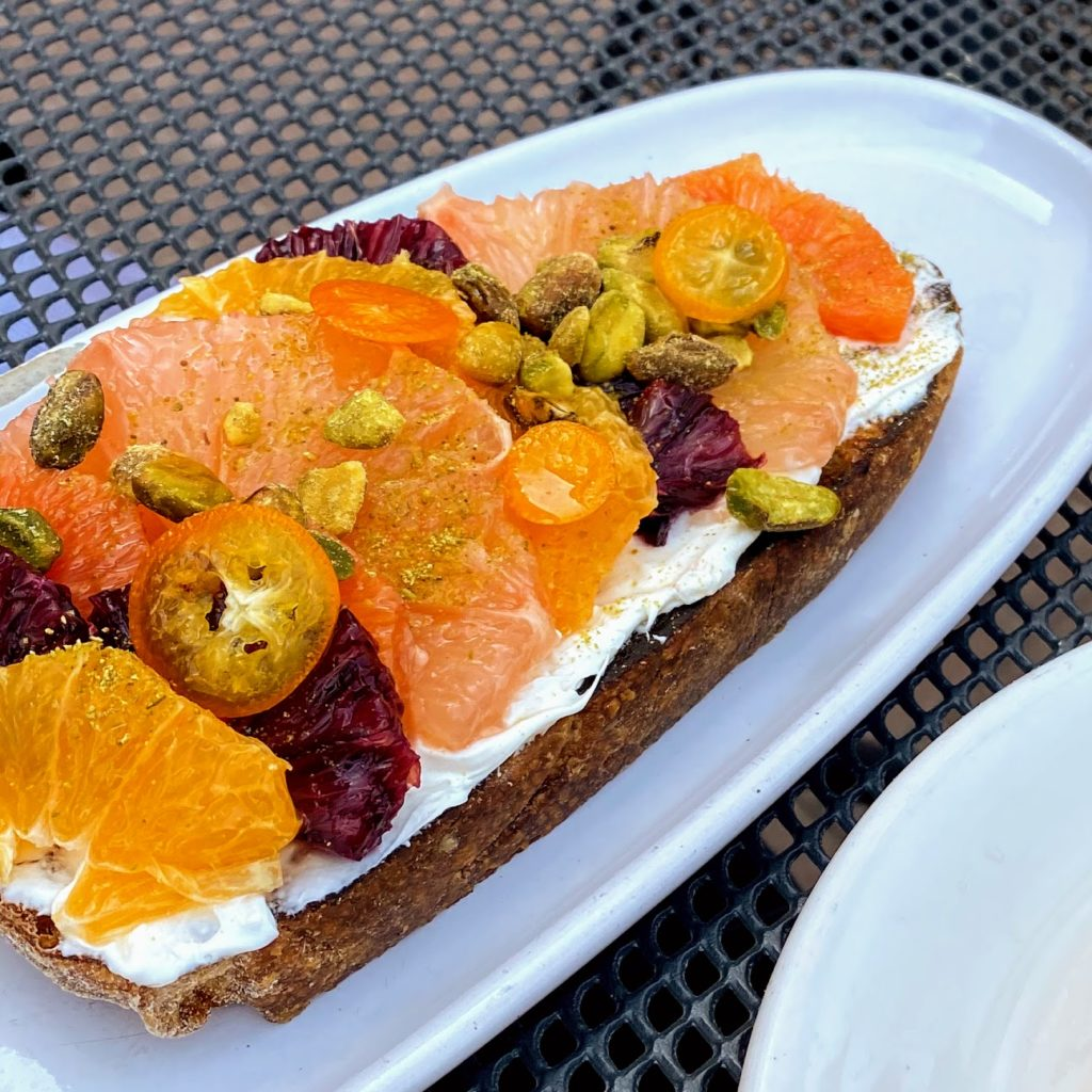 Winter citrus toast, Scratchboard Kitchen