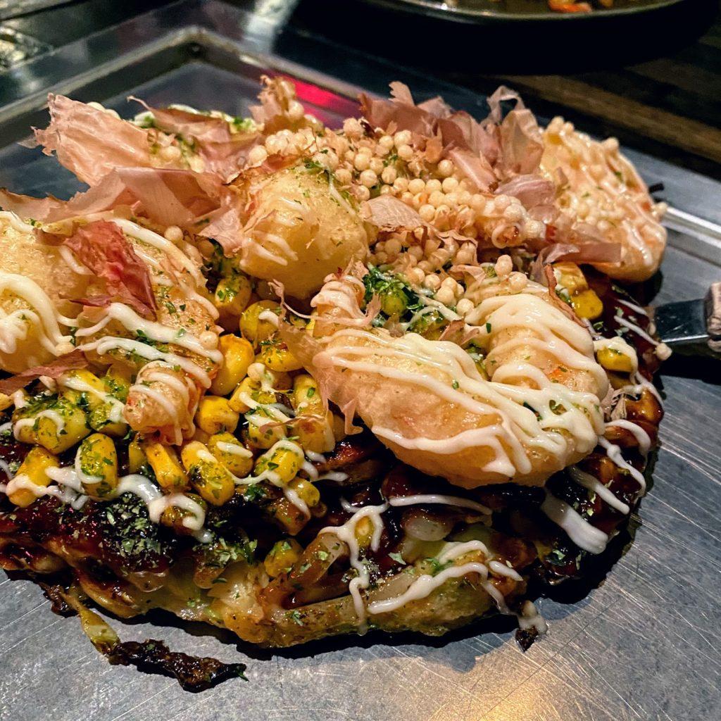Shrimp okonomiyaki, Gaijin