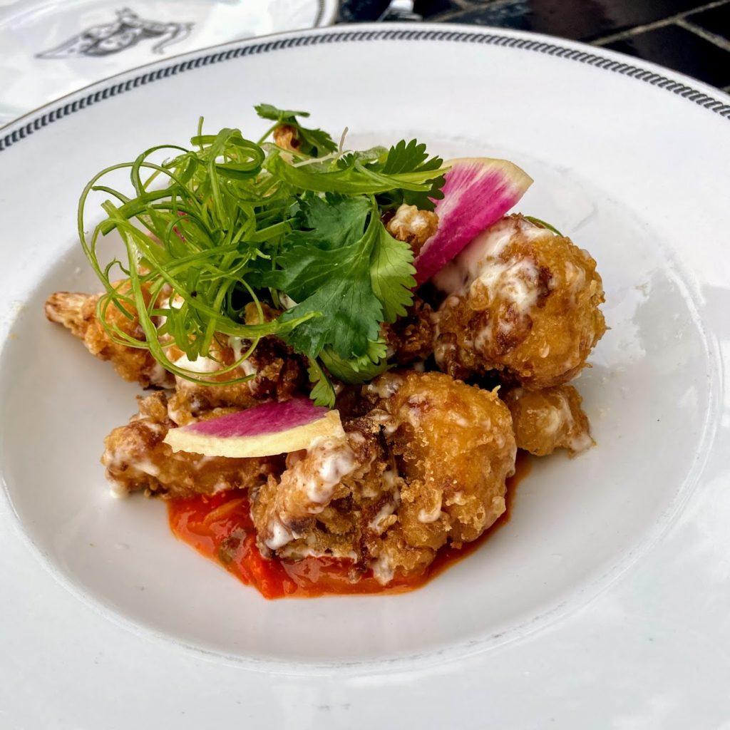 Ironside Fish & Oyster cauliflower