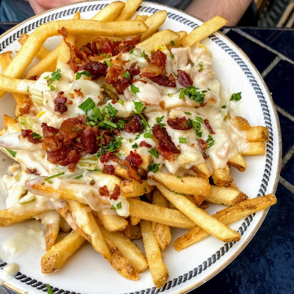 Chowder fries, Ironside Fish & Oyster
