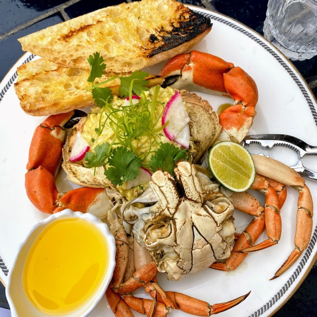 SD rock crab, Ironside Fish & Oyster